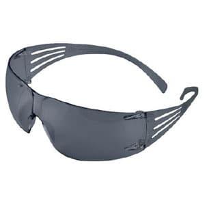 二眼型保護メガネ セキュアフィット フィットタイプ UVカット仕様 グレーレンズ 10個入バリューパック