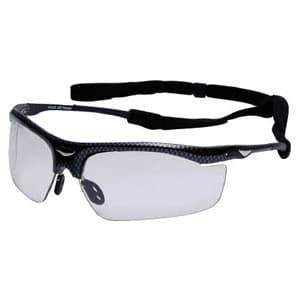 二眼型保護メガネ 調光レンズセーフティグラス フィットタイプ UVカット仕様 専用ストラップ付