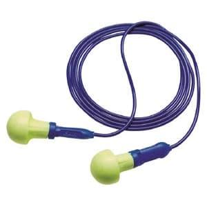 耳栓 E-A-Rプッシュインスミニ フォームタイプ サイズフリー NRR値28dB ひも付(584mm)
