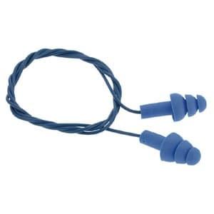 耳栓 E-A-Rウルトラフィット 鉄球入 金属探知機反応タイプ サイズフリー NRR値25dB ひも付(620mm)