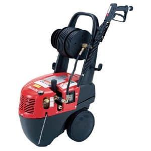 高圧洗浄機 清水専用 電動タイプ 吐出圧14.7MPa 水量13L/min 高圧ホースリール15m巻