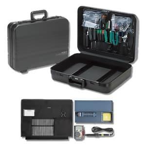 アタッシュ工具セット 26点セット L465×W345×H129mm 仕切枠・ダイヤルロック付