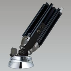 LED一体型ダウンライト アジャスタブルタイプ ダイクロハロゲン50W相当 電球色 配光角度22° グレアレスタイプ 電源別売