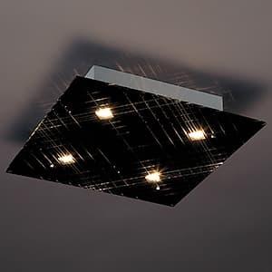 LEDランプ交換型シーリングライト 非調光 ダイクロハロゲン60W×4相当 電球色 E11口金 ランプ付 4968478547280