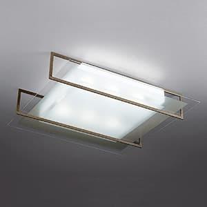 LEDランプ交換型シーリングライト 〜4.5畳用 非調光 LED電球7.8W×4 電球色 E26口金 ランプ付 ラスティー 4968478550754