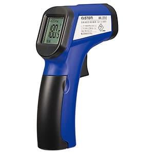 放射温度計 距離:測定径120cm:φ10cm 測定範囲-50〜+330℃ レーザーマーカー機能付
