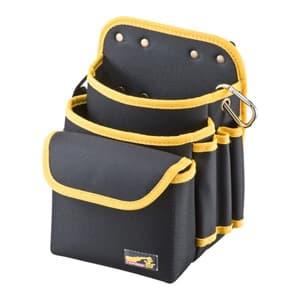 ベルト付工具袋 腰用 厚手