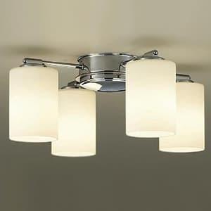 LEDシャンデリア ランプ付 白熱灯60W×4灯相当 非調光タイプ 6W×4灯 口金E17 電球色タイプ