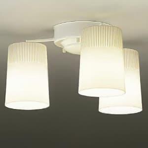 LEDシャンデリア ランプ付 白熱灯60W×3灯相当 非調光タイプ 6.6W×3灯 口金E26 電球色タイプ