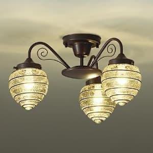 LEDシャンデリア ランプ付 白熱灯60W×3灯相当 非調光タイプ 4.7W×3灯 口金E17 電球色タイプ