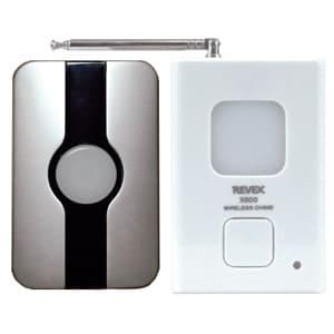 玄関チャイムセット 送信機防雨型 電池式 ワイヤレス 配線不要