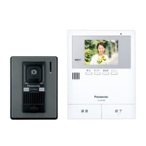 テレビドアホン LEDライト搭載玄関子機付 録画機能付