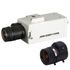 屋内用ボックスカメラレンズセット EX-SDI対応2.2メガピクセル 2.8〜9mmレンズ
