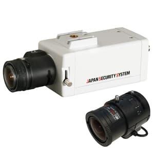屋内用ボックスカメラレンズセット EX-SDI対応2.2メガピクセル 2.8〜12mmレンズ