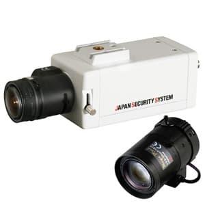 屋内用ボックスカメラレンズセット EX-SDI対応2.2メガピクセル 8〜50mmレンズ