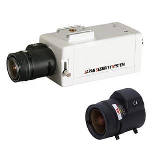 屋内用ボックスカメラレンズセット AHD対応2.2メガピクセル 2.8〜9mmレンズ
