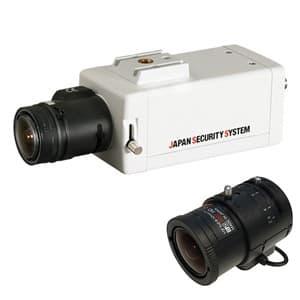 屋内用ボックスカメラレンズセット AHD対応2.2メガピクセル 2.8〜12mmレンズ