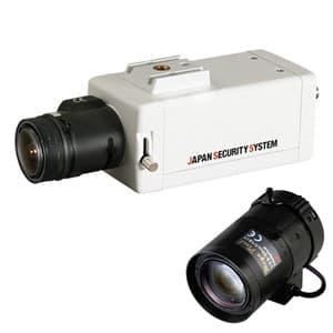 屋内用ボックスカメラレンズセット AHD対応2.2メガピクセル 8〜50mmレンズ