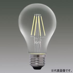 LEDフィラメント電球 クリアタイプ 一般電球40形相当 電球色 E26口金 調光器対応