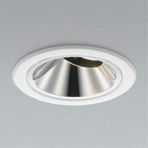 XICATOモジュールLEDユニバーサルダウンライト LED一体型 グレアレスタイプ 1300lmモジュール 白色 JR12V50WW相当 照度角40° 埋込穴φ100