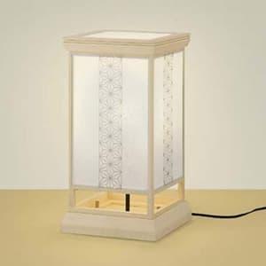 LED和風スタンドライト 《宿灯》 LEDランプ交換可能型 電球色 口金E26 スイッチ付