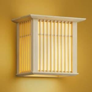 LED和風ブラケットライト LEDランプ交換可能型 壁付専用 白熱球60W相当 電球色 口金E26