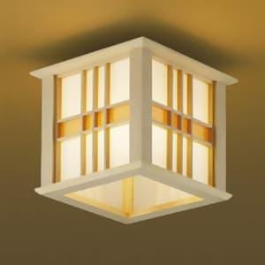 LED和風シーリングライト LEDランプ交換可能型 直付専用 白熱球60W相当 電球色 口金E26