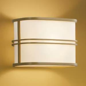 LED和風ブラケットライト LEDランプ交換可能型 壁付専用 白熱球40W相当 電球色 口金E17 白木色 《民芸シリーズ》