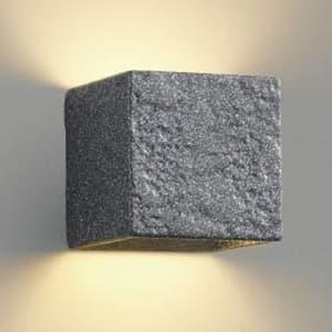LED和風ブラケットライト 《Bisque》 LEDランプ交換可能型 壁付専用 白熱球60W相当 電球色 口金E17 陶器・石目模様入