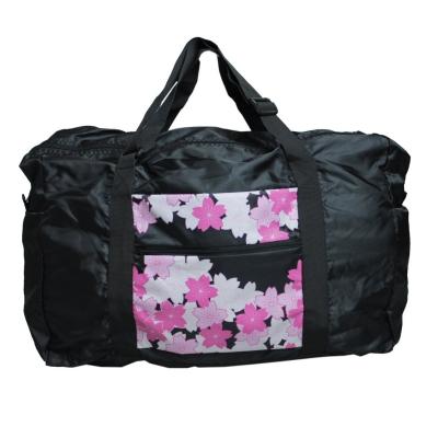フライバッグ和柄桜黒