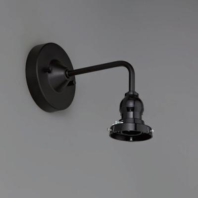 ブラケットライト ビス止めタイプ セードホルダー型 パイプキーレスソケットタイプ E26口金 壁面取付専用