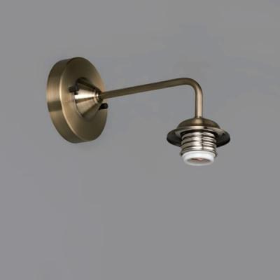 ブラケットライト 〆付けタイプ E26口金 壁面取付専用 真鍮ブロンズ鍍金