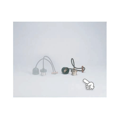 室内用白熱灯照明器具 黒コード〆付けリングセットNO2
