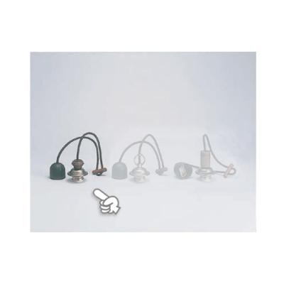室内用白熱灯照明器具 黒コード〆付けリングセットNO3