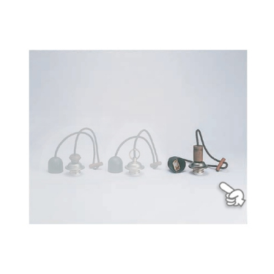 室内用白熱灯照明器具 黒コード〆付けリングセットNO5