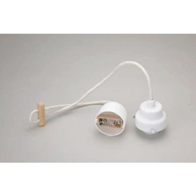 室内用白熱灯照明器具 コード小口ホルダーセット(白塗装)