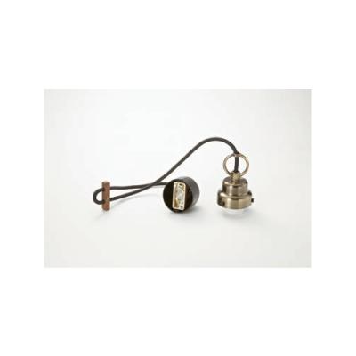 Bisudome Guard Seriesコード小口ホルダーセット丸環付(真鍮ブロンズ鍍金)