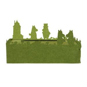 ティッシュケース 《Tissue Case moomin》 グリーン