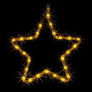 LEDモチーフ 星(B) 全点灯タイプ 組立式 電源コード長25cm