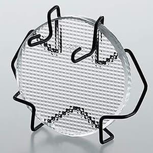ディフュージョンレンズ φ29mm 強化ガラス製 cledy microシリーズオプション