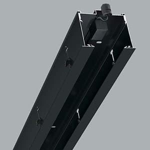 【受注生産品】 リニアバンクシステムパーツ センターパーツ 500mmタイプ 黒色 cledy microシリーズ