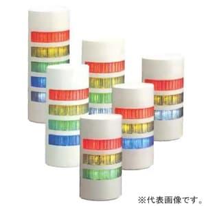 LED壁面取付積層信号灯 《シグナル・タワー ウォールマウント》 点灯タイプ 3段式(赤・黄・緑) ライトグレー