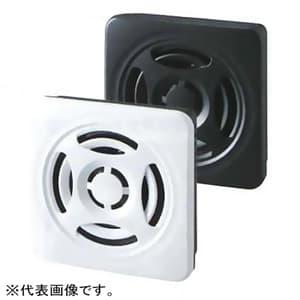 薄型MP3再生報知器 パネル・壁面取付両用 大音量タイプ 定格電圧DC12-24V 最大87dB □75mm NPNトランジスタ対応 オフダークグレー