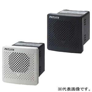 電子音報知器 《シグナルホン》 埋込専用 大音量タイプ 定格電圧AC100/220V 最大90dB □80mm 32音色内蔵(Dタイプ) ダークグレー