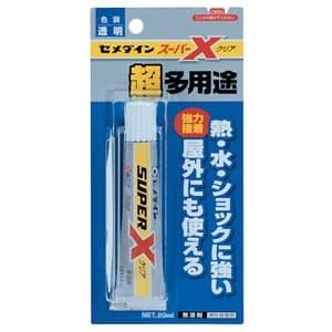 超多用途・高機能接着剤 スーパーX 速硬化・無溶剤タイプ 容量20ml クリア
