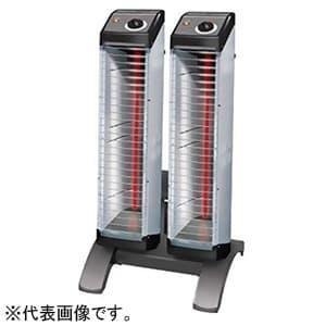 遠赤外線暖房機 《セラムヒート》 床置スリム形 ツインタイプ 工場・作業所用 単相200V 消費電力3.0kW 電源コード別売