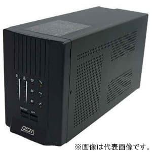 単相無停電電源装置 パワフルタイプ ラインインタラクティブ方式 出力容量1150VA/690W 専用電源管理ソフトウェア付