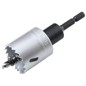 ツバなしバイメタルホールソー 回転専用 刃先径φ33mm