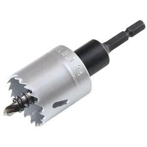 ツバなしバイメタルホールソー 回転専用 刃先径φ34mm