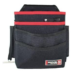 腰袋 3段ポケットタイプ インナーサック付 ソフトフィットシリーズ